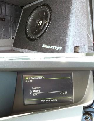 Kicker dension i Volvo FH-vert